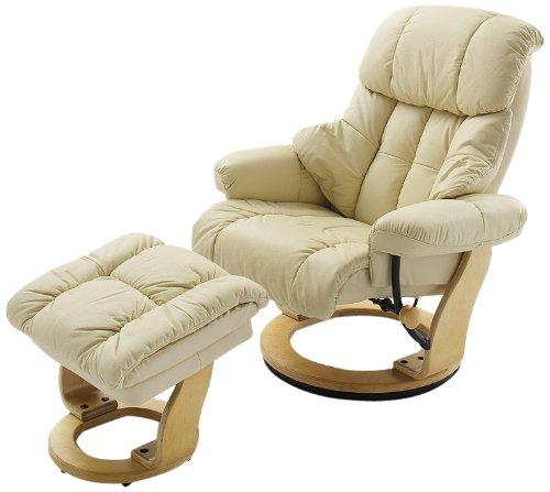 Robas-Lund-64023CN5-Relaxsessel-Calgary-mit-Hocker-Bezug-Leder-creme-Gestell-Natur-90-x-91-122-x-89-104-cm-0