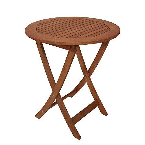 Runder-Gartentisch-aus-Holz-massiv-klappbar-Pharao24-0