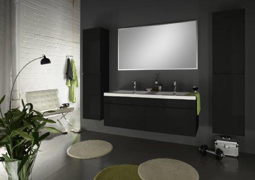 SAM-Badmbel-Set-Parma-4tlg-Komplettset-in-Hochglanz-schwarz-140-cm-breiter-Doppel-Waschplatz-Badezimmermbel-bestehend-aus-1-x-Spiegel-1-x-Doppel-Waschplatz-und-2-x-Hochschrank-0