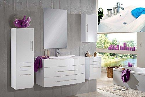 SAM-Badmbel-Set-Zrich-light-100-cm-in-Hochglanz-wei-5tlg-mit-Softclose-Funktion-1-Waschplatz-mit-Mineralgussbecken-wei-1-Spiegelschrank-1-Hochschrank-1-Unterschrank-1-Hngeschrank-0