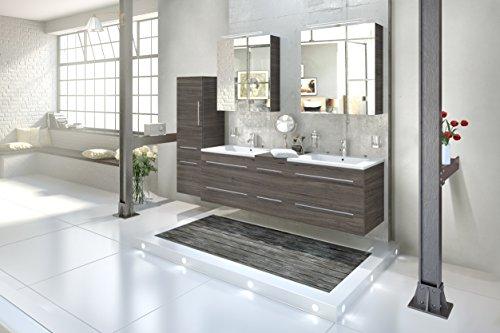 SAM-Design-Badmbel-Set-Barcelona-4tlg-in-Trffeleiche-150-cm-mit-Softclosefunktion-Badezimmer-Set-bestehend-aus-2-x-Spiegelschrank-1-x-Doppelwaschplatz-1-x-Hochschrank-0