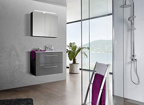 SAM-Design-Badmbel-Set-Verena-80-cm-in-Hochglanz-grau-2tlg-Designer-Badezimmer-mit-Softclose-Funktion-1-Waschplatz-1-Spiegelschrank-0