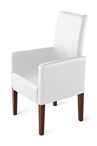 SAM-Esszimmer-Armlehnstuhl-Relaxsessel-Tesla-in-wei-SAMOLUX-Bezug-Stuhl-mit-Pinienholz-Beinen-in-kolonial-Esszimmerstuhl-mit-angenehmer-Polsterung-fr-hohen-Sitzkomfort-0