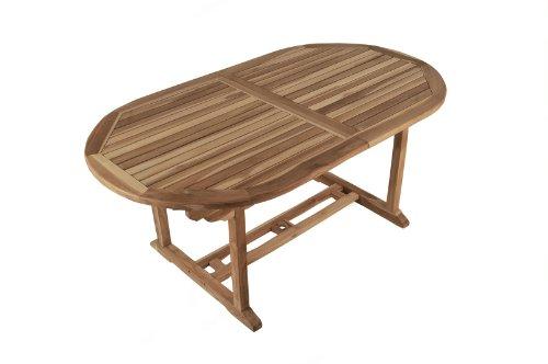 SAM-Garten-Tisch-Aruba-XL-Gartenmbel-aus-Teak-Holz-Auszieh-Tisch-180-240-cm-mit-Schirmloch-Terrassen-Mbel-aus-Holz-Teakholz-Mbel-mit-geschliffener-Oberflche-Massivholz-Mbel-fr-Garten-oder-Terrasse-0