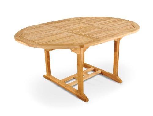 SAM-Garten-Tisch-Borneo-Gartenmbel-aus-Teak-Holz-Auszieh-Tisch-120-170-cm-mit-Schirmloch-Terrassen-Mbel-aus-Holz-Teakholz-Mbel-mit-geschliffener-Oberflche-Massivholz-Mbel-fr-Garten-oder-Terrasse-0