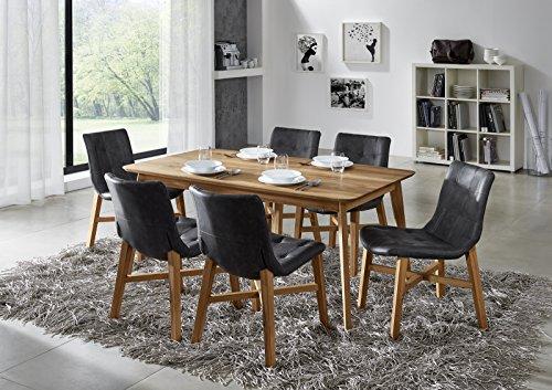 SAM-Stilvolle-Esszimmertischgruppe-5tlg-Olpe-aus-Wildeiche-gelt-besteht-aus-1-x-Tisch-Olpe-gelt-6-x-Stuhl-Bernd-in-anthrazit-natrliche-Maserung-massiv-pflegeleicht-Lieferung-teilmontiert-per-Spedition-0