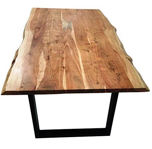 SAM-Stilvoller-Esszimmertisch-Imker-aus-Akazie-Holz-Tisch-mit-lackierten-Beinen-aus-Roheisen-naturbelassene-Optik-mit-einer-Baumkanten-Tischplatte-0