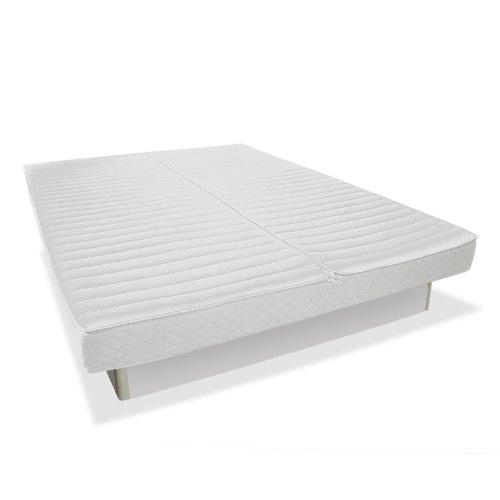 SONDERAKTION bellvita Wasserbett inkl. Lieferung und Aufbau durch Fachpersonal, silber,160 cm x 200 cm