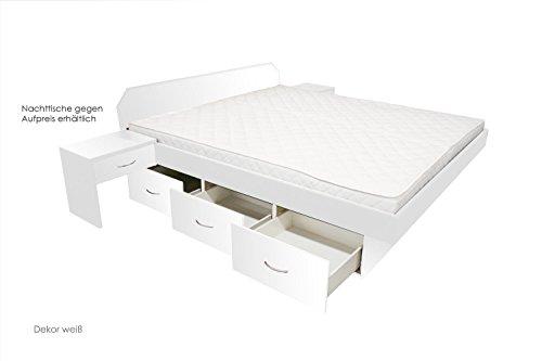 SONDERAKTION-bellvita-Wasserbett-mit-Schubladensockel-in-Komforthhe-Bettumrandung-inkl-Aufbauservice-wei-180-cm-x-200-cm-0