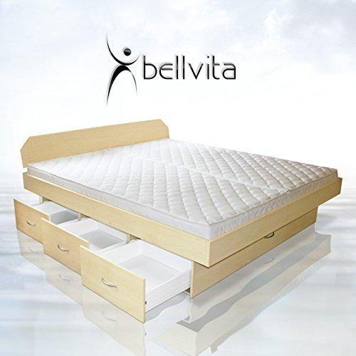 SONDERAKTION-bellvita-Wasserbett-mit-Schubladensockel-in-Komforthhe-Bettumrandung-mit-Aufbau-ahorn-200-cm-x-220-cm-0