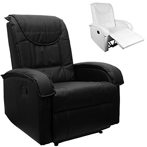 STILISTA-TV-Relaxsessel-aus-echtem-Leder-mit-ausklappbarer-Fusttze-bequeme-Polsterung-Farbe-schwarz-0