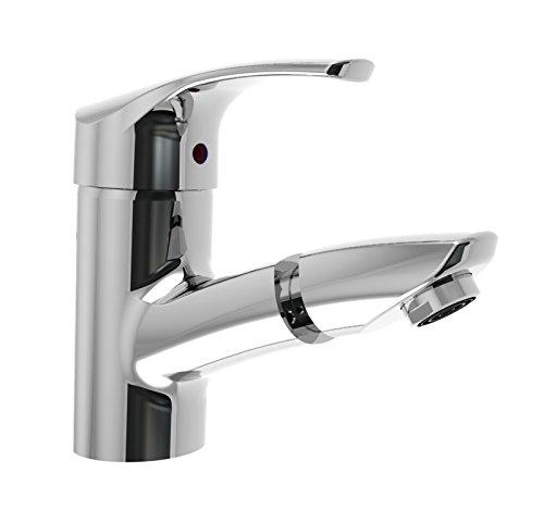 Sanifri-Atlanta-Einhebel-Waschtischarmatur-mit-flexiblen-Anschluschluchen-Ablaufgarnitur-und-herausziehbarem-Brausestck-chrom-470010298-0