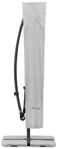Schneider Schutzhülle für Ampelschirme, silbergrau, bis 300 cm Ø