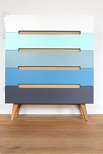 Schubladenkommode-Linsell-Sideboard-Highboard-bunt-modern-Design-Eiche-MDF-0