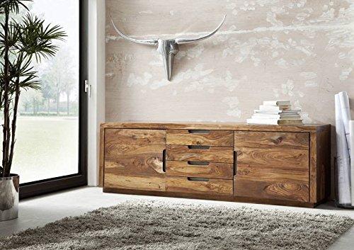 sheesham massiv holz m bel lackiert sideboard palisander massiv m bel massivholz walnuss duke. Black Bedroom Furniture Sets. Home Design Ideas