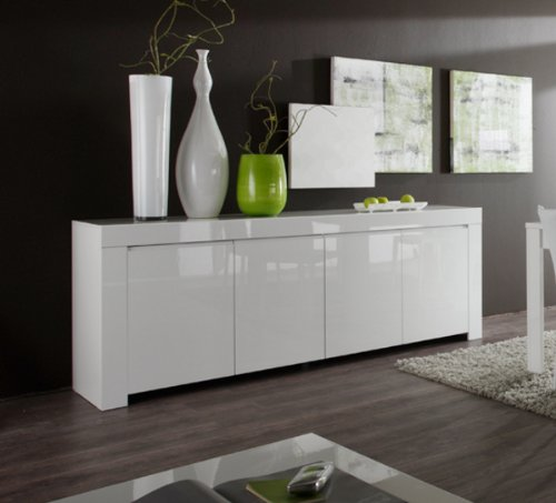 Sideboard-Amalfi-4-trig-210-x-84-x-50-cm-wei-hochglanz-0