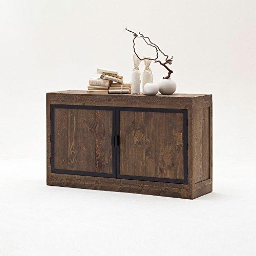 Sideboard-Finca-Vintage-Shabby-Esszimmer-Kommode-Vitrine-Kiefer-Massivholz-Mbel-0