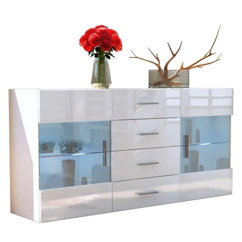 Sideboard-Kommode-Bari-in-Wei-Wei-Hochglanz-0