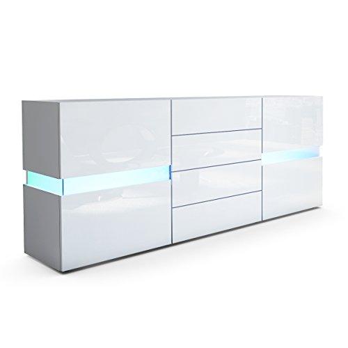Sideboard-Kommode-Flow-in-Wei-matt-Wei-Hochglanz-inkl-LED-Beleuchtung-0