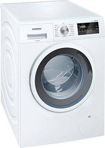 Siemens WM14N120 iQ300 Waschmaschine FL/A+++/157 kWh/Jahr/1390 UpM/7 kg/Weiß/Spezialprogramm für Sport- und Outdoor-Bekleidung/Imprägnier-Programm/Nachlegefunktion