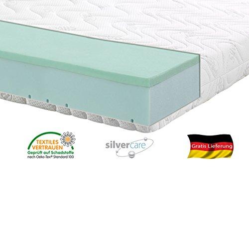 Silver-Orthopdische-7-Zonen-Premium-Silver-Care-Visco-Kaltschaum-Matratze-Hhe-ca-20-cm-180-x-200-cm-H3-Silver-Care-Bezug-0