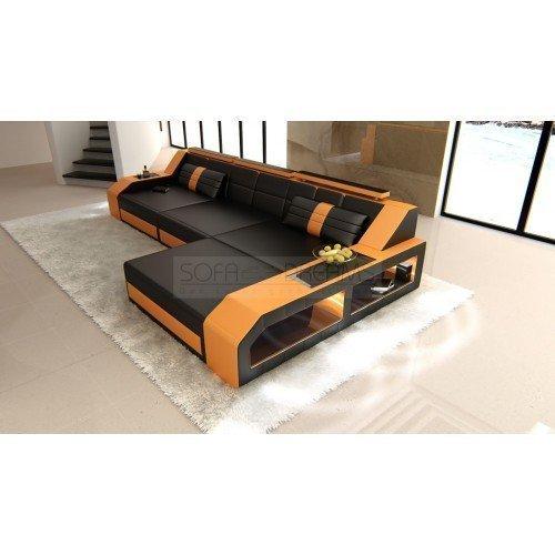 polsterecke livin turino pin sofa modern l form grau on. Black Bedroom Furniture Sets. Home Design Ideas