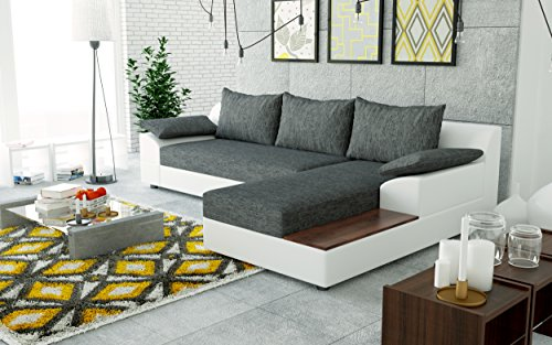 Sofa couchgarnitur couch sofagarnitur nemo als l form for Wohnlandschaft l form mit schlaffunktion