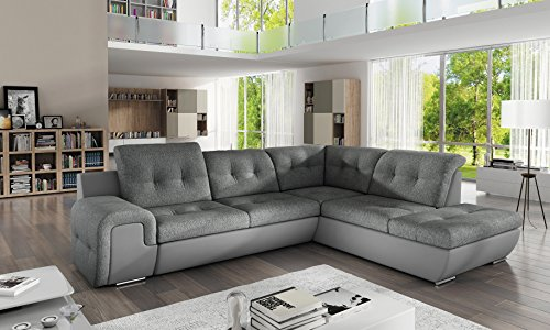 Sofa Couchgarnitur GALAXY B Couch Sofagarnitur Polstergarnitur Wohnlandschaft Schlaffunktion