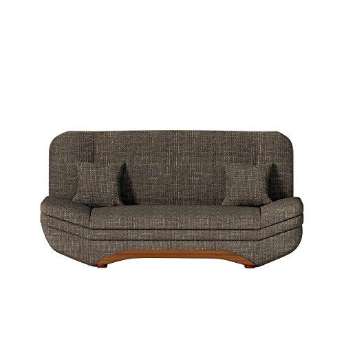 Sofa Weronika Lux SALE mit Bettkasten und Schlaffunktion, Schlafsofa, Große Farb- und Materialauswahl, Couch vom Hersteller, Wohnlandschaft
