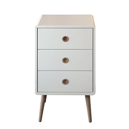 Steens Furniture 3600030050000F Kommode Soft Line,73 x 41 x 40 cm, MDF weiß