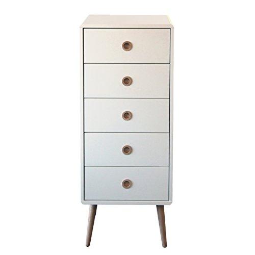 Steens Furniture 3600050050000F Kommode Soft Line,105 x 41 x 40 cm, MDF weiß