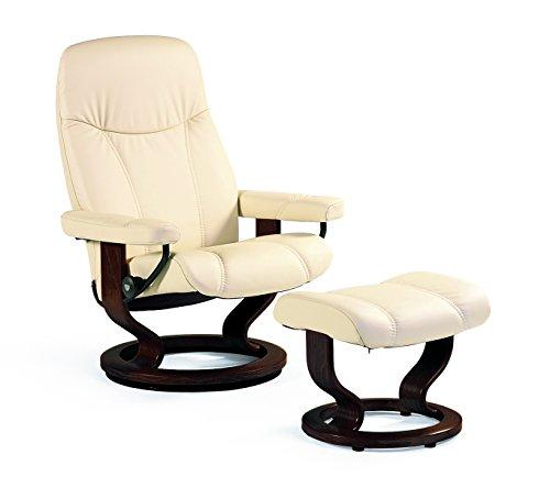 Stressless-Bequemsessel-inkl-Hocker-creme-Echtleder-Sessel-Sitz-Armlehnen-Hochlehne-Sitzmbel-0