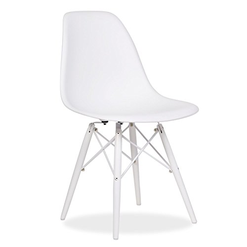 Stuhl WOODEN -TOTAL WHITE Edition--White-Unica Inspiración DSW de Charles & Ray Eames