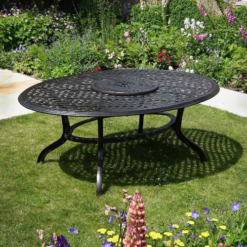 Summer-195-x-145cm-Ovales-Gartenmbelset-1-SUMMER-Tisch-8-JANE-Sthle-0