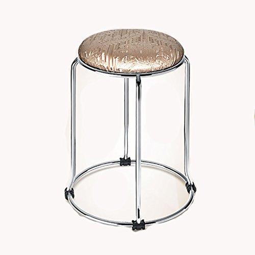 TANG CHAO Hocker Mode Ideen Einfache Home Hocker Kleine Hocker Farbe Kissen Metall Klappstuhl Hocker Bankhocker Stühle