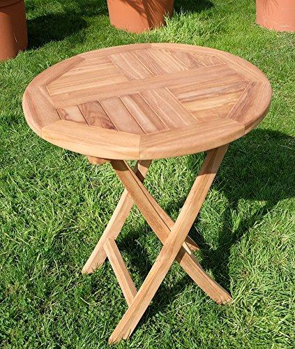 TEAK-Klapptisch-Holztisch-Gartentisch-Garten-Tisch-rund-60cm-COAMO-Holz-gelt-von-AS-S-0