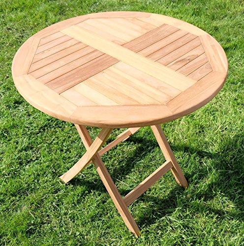 TEAK-Klapptisch-Holztisch-Gartentisch-Garten-Tisch-rund-80cm-COAMO-Holz-gelt-von-AS-S-0