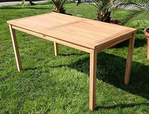 TEAK-XL-Holztisch-150x80cm-Gartenmbel-Gartentisch-Garten-Tisch-Holz-gelt-sehr-robust-Modell-ALPEN-von-AS-S-0