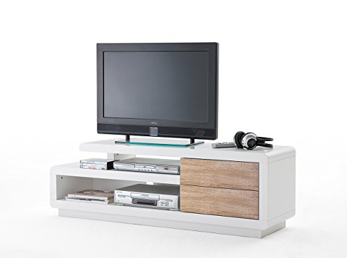 tv schrank tv bank tv kommode tv unterschrank hochglanz schwarz. Black Bedroom Furniture Sets. Home Design Ideas