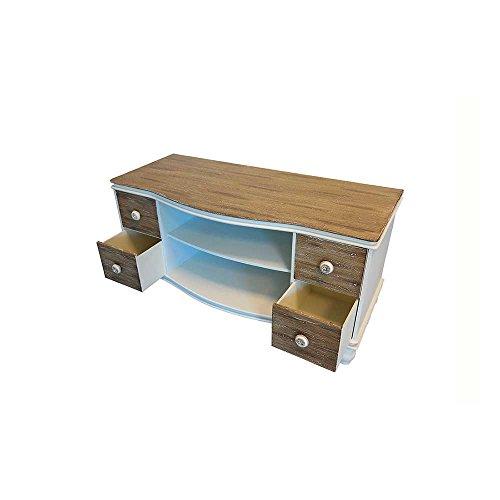 TV Board im Landhaus Design Schubladen Pharao24