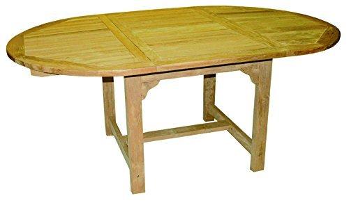 Teak-Holz-Tisch-oval-ausziehbar-Mae-220160x110x75cm-0
