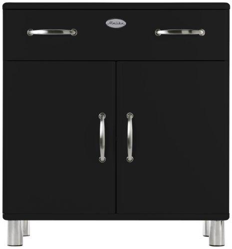 Tenzo-5127-033-Malibu-Designer-Kommode-92-x-86-x-41-cm-MDF-lackiert-schwarz-0