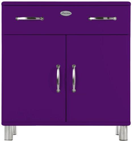 Tenzo-5127-040-Malibu-Designer-Kommode-92-x-86-x-41-cm-MDF-lackiert-violett-0