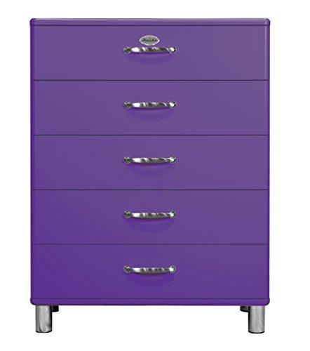 Tenzo-5295-040-Malibu-Designer-Kommode-111-x-86-x-41-cm-MDF-lackiert-violett-0