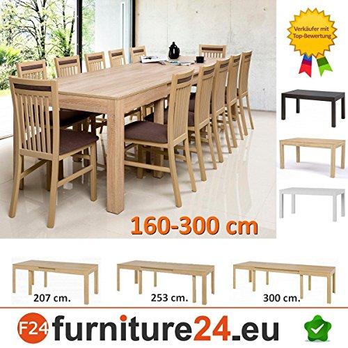 Tisch-Kchentisch-Esszimmertisch-Esstisch-WENUS-ausziehbar-300-cm-0