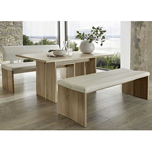 Tischgruppe Peace mit 2 Bänken (3-teilig) Breite 160 cm Sitzplätze 6 Sitzplätze Pharao24