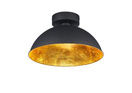 Trio-Leuchten-LED-Deckenleuchte-Romino-schwarz-matt-innen-goldfarbig-676510302-0