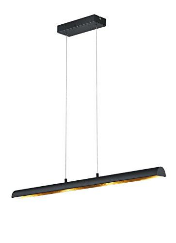 Trio-Leuchten-LED-Pendelleuchte-Ramiro-in-schwarz-matt-innen-goldfarbig-376410402-0