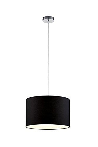 Trio-Leuchten-Pendelleuchte-in-nickel-matt-Stoffschirm-schwarz-303300102-0