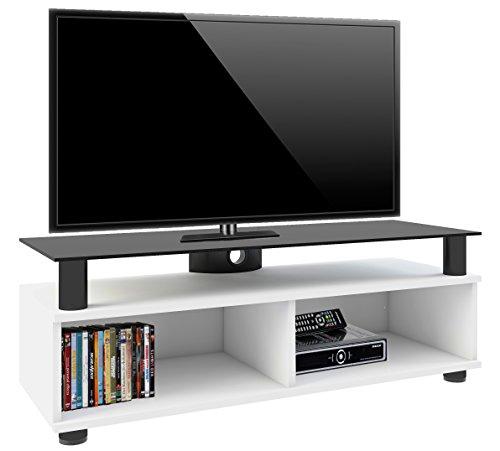 """VCM 14230 TV-Lowboard """"Clunis lack"""" Rack, Tisch, Holz, Schrank, Weiß"""